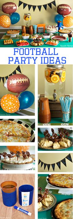 Football Party Ideas GameDayPizza Ad Food And Drinks Themes Sports