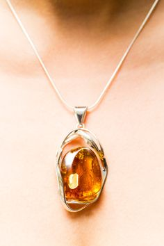 Magnificent Amber Pendant baltic amber amber by BalticBeauty925