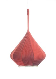 Knitula - the knitted tube lamp Red by kollektiv plus zwei on CROWDYHOUSE - ✓Unique Design Products ✓30 Day Returns ✓Buyer Protection