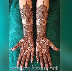 2015 Mehndi Maharani Finalist: Sonika's Henna Art www. New Mehndi Designs Images, Indian Mehndi Designs, Mehndi Designs 2018, Mehndi Designs For Beginners, Mehndi Design Pictures, Wedding Mehndi Designs, Mehndi Designs For Fingers, Mehandi Designs, Mehndi Images