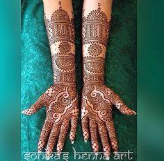 2015 Mehndi Maharani Finalist: Sonika's Henna Art http://www.maharaniweddings.com/gallery/photo/50937