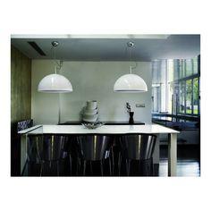 Luminarias de PVC Lacado Blanco Gran Formato. Lámparas de diseño para salones, comedores, dormitorios. Ofertas