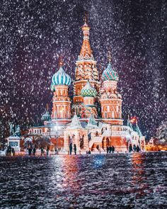 During the Winter Moscow Is Pretty Much a Real Life Fairytale | Blaze Press