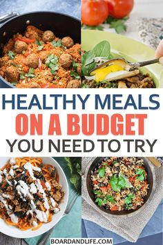 Healthy Meals On A Budget: 27 Recipes You Need To Try – veg-friendly in the seco… - Healthy Recipes Clean Eating, Healthy Eating Tips, Easy Healthy Recipes, Healthy Snacks, Vegetarian Recipes, Easy Meals, Eat Healthy, Eating Well, Healthy Living