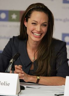 Angelina Jolie - Not with Brad. Probably a shock to you I am a fan. Just herself. Genuine, a great mother, and so giving of her fortunes to those in need. She made Brad a better person. Besides, wierd is interesting. We need more of it in this life.