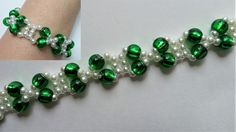 Easy pattern for bracelet and necklace. DIY handmade jewelry