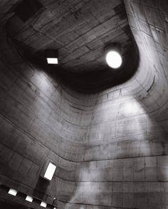 Le Corbusier, St. Pierre Church, Firminy, France. Photo by Helen Binet.
