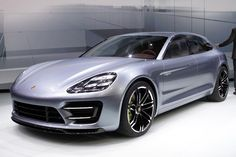 Porsche Panamera Sport Turismo Concept at 2012 Paris Motor Show