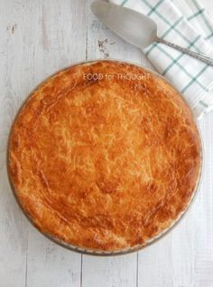 Food for thought: Ζαμπονοτυρόπιτα Sweets Recipes, Pie Recipes, Cooking Recipes, Greek Pastries, Beach Meals, Greek Recipes, Soul Food, Finger Foods, Food Processor Recipes
