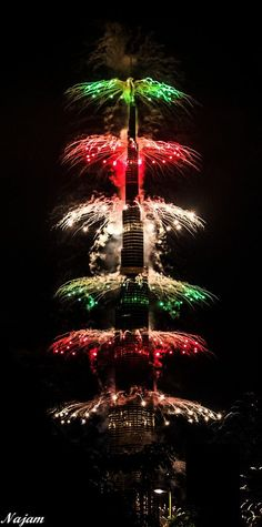 New Year at Burj Khalifa, Dubai, United Arab Emirates | @༺♥༻LadyLuxury༺♥༻