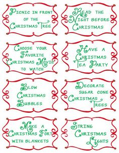 advent activities, advent countdown, calendar activities, family christmas, advent calendars