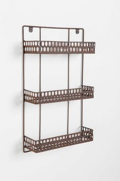 Triple-Decker Shelf - Bronze