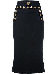 Dolce & Gabbana юбка с пуговицами