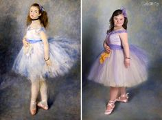 [Trending] Children With Down Syndrome Recreate Famous Paintings To Prove That Everyone Is A Work Of Art
