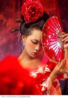 Japanese Geisha, Japanese Art, Asian Artwork, Geisha Art, Memoirs Of A Geisha, Japanese Warrior, Asian Tattoos, Japon Illustration, Oriental Tattoo