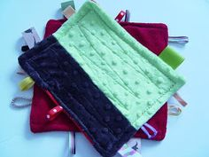 THE SEWING DORK: How To Make a Baby Sensory Blanket