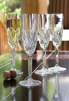 Marquis by Waterford Brookside Champagne Flute, Set of 4 - Special!