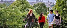 The University of Edinburgh students