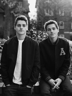 Jack and Finn for Miss Vogue UK ♥♥