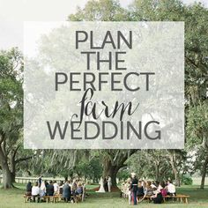 Plan the perfect far