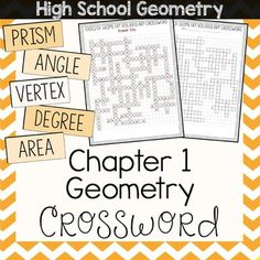 Geometry Vocabulary Crossword   Student, The o'jays and Words