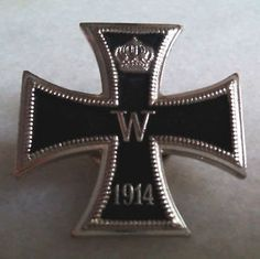 German Kaiser Prussia Knight Iron Cross Medal Award Army War Pin Tie Lapel Badge for Like the German Kaiser Prussia Knight Iron Cross Medal Award Army War Pin Tie Lapel Badge? War Medals, Prussia, Wwi, Knight, Badge, German, Army, Medal Honor, Crosses