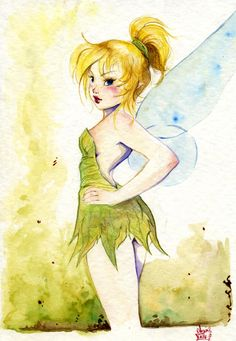 Tinkerbell, the most famous fairy of all!