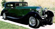 1930 bentley drophead coupe