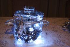 Świecący garnuszek/ Lightning pot #świąteczne dekoracje #Christmas # Christmasdecorations  #lights http://www.myhomerules.pl