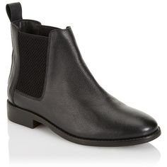 Faith Basic Chelsea Boots (510 SEK) ❤ liked on Polyvore featuring shoes, boots, ankle booties, flat chelsea ankle boots, chelsea bootie, flat chelsea boots, chelsea ankle boots and lipsy