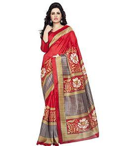 Crepe Saree, Art Silk Sarees, Lady In Red, Shop Now, Saree Fashion, Sari, Clothes, Shopping, Amazon