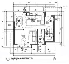 Building First Floor Plan