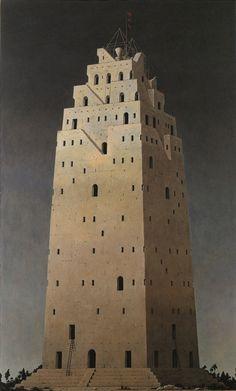 Paintings by Minoru Nomata Title: Heraclitus