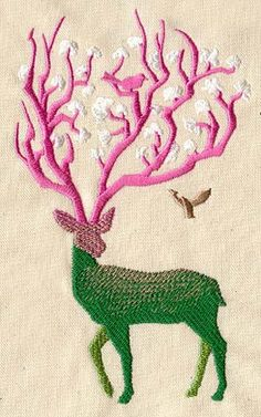 Floral Fauna | Urban Threads: Unique and Awesome Embroidery Designs