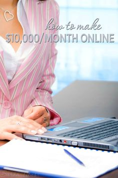 I'm a mom who's been making money online for more than 17 years. This is, by far, my favorite way to make money from home and you don't even need any previous experience. I didn't have any when I started either. One year later, I was making $10,000/month!