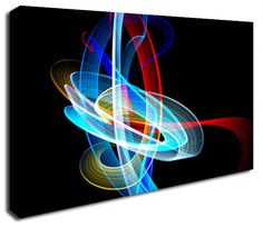 Simply Canvas have a great variety of canvas wall prints. Abstract wall art from only Wall Prints, Canvas Art Prints, Canvas Wall Art, Abstract Canvas Art, It's Amazing, Electric, Colours, Design, Products