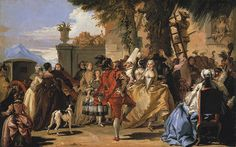 Giovanni Domenico Tiepolo: A Dance in the Country (1980.67) | Heilbrunn Timeline of Art History | The Metropolitan Museum of Art