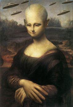 The Alien Mona Lisa