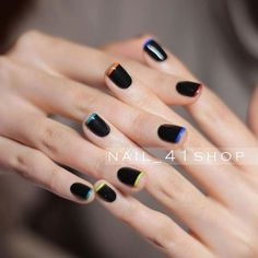 Fashion Nail Designs 2018 You can collect images you discovered organize them, add your own ideas to your collections and share with other people. Gelish Nails, Nail Manicure, Gorgeous Nails, Pretty Nails, Nail Art Designs, Marvel Nails, Mickey Nails, Accent Nails, Minimalist Nails