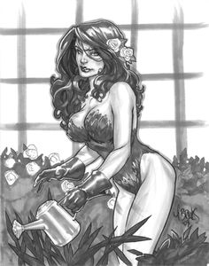 Poison Ivy by Mark Brooks