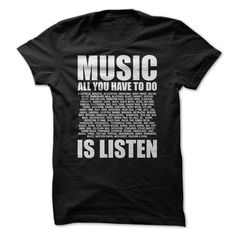 View images & photos of Listen to Music t-shirts & hoodies