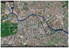 Luftbildplan Berlin – Bereich City-Ost (gefaltet)