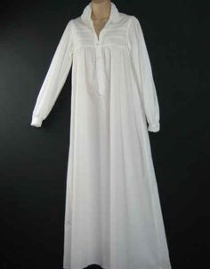 You've browsed online for a creepy, full-length night gown.