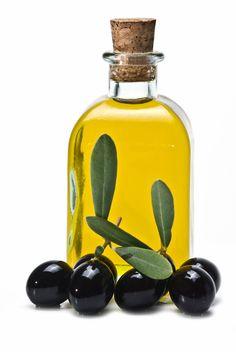 Imagen: aceite de oliva para el cabello.