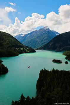 Diablo Lake North Cascades National Park Washington USA // http://localadventurer.com