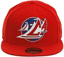 c4104fc7064 Hat Club Exclusive California Sails Fitted Hat - Red