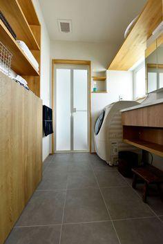 Laundry Closet, Laundry Room, Dream Home Design, House Design, Asian Interior, Sunroom, Interior Architecture, My House, House Plans