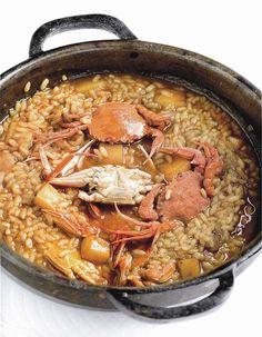 Arroz de cangrejos y sepia. #Cantabria #Spain #Travel #Food #Gastronomy