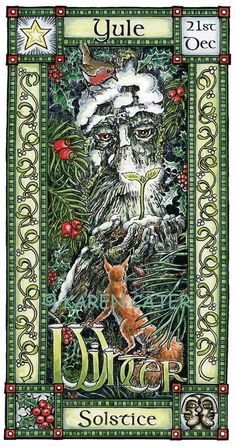 Winter Solstice. Relates to the pagan celebration of christmas.