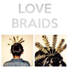 Blog '6weeks of Treasures' our number5!! Love2Braid Hairjewelry